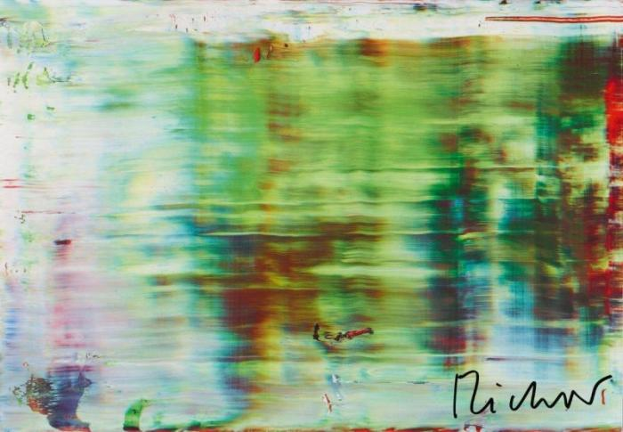 Gerhard Richter-Abstraktes Bild 858-5 (Abstract Painting 858-5)-1999