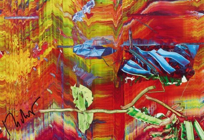 Gerhard Richter-Abstraktes Bild 858-6 (Abstract Painting 858-6)-1999
