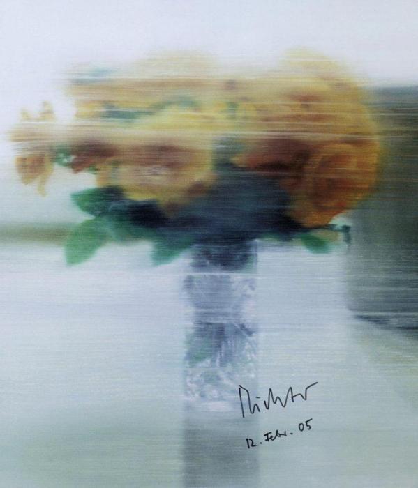 Gerhard Richter-Rosen (Roses)-2005