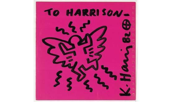 Keith Haring-Keith Haring - To Harrison-1982