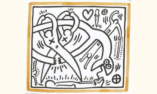 Keith Haring-Keith Haring - Sans titre-1989