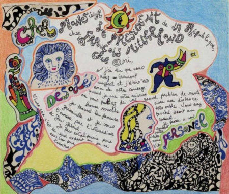 Niki de Saint Phalle-Monsieur le president de la republique-