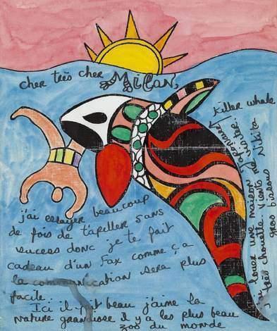 Niki de Saint Phalle-Cher Milan-