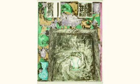Jasper Johns-Untitled (Universal Limited Art Editions 257)-1992