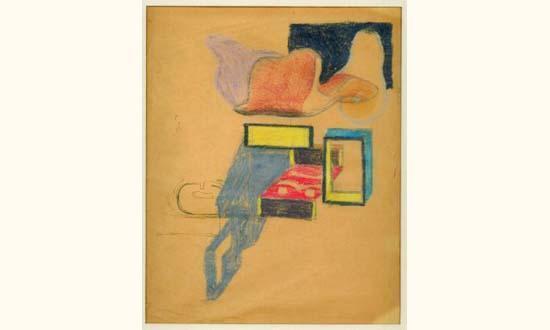 Le Corbusier-Os et boite d'allumettes-