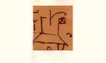 Paul Klee-Drapeau Sur Le Toit-1937