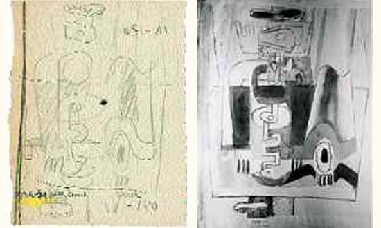 Le Corbusier-Peinture murale-1939