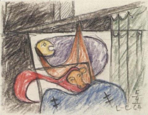 Le Corbusier-Naissance du Minotaure-1964