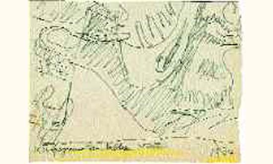 Le Corbusier-Fragment d'un tableau-1934