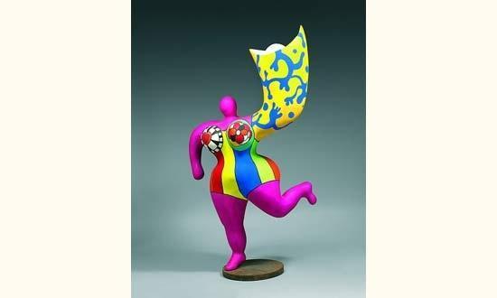 Niki de Saint Phalle-L'ange luminaire-