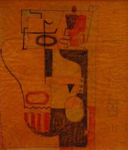 Le Corbusier-Nature morte puriste-1926