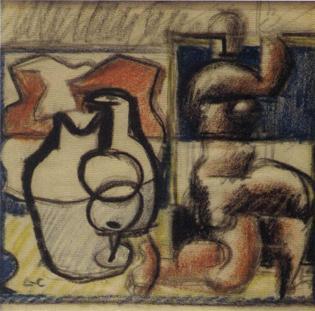 Le Corbusier-Femme agenouillee-