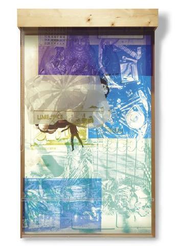Robert Rauschenberg-Robert Rauschenberg - Sling Shot Lit # 3-1984