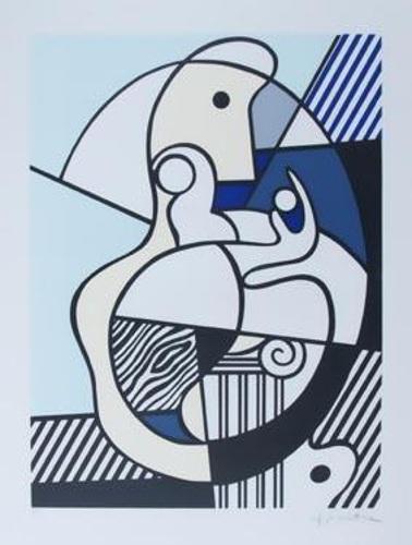 Roy Lichtenstein-Homage to Max Ernst-1975