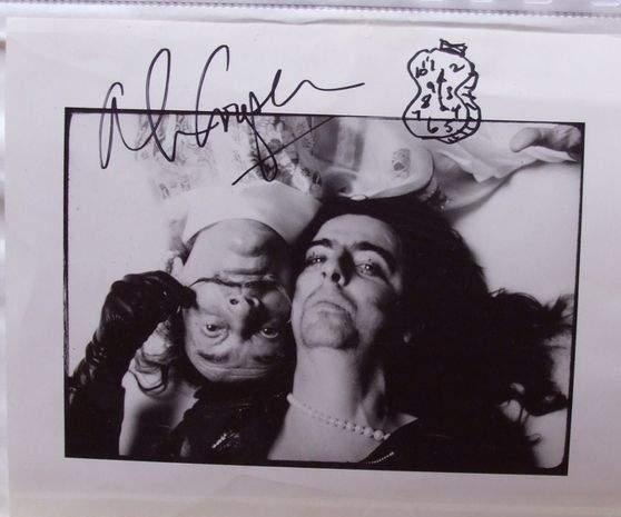 Annie Leibovitz-Salvador Dali et Alice Cooper-