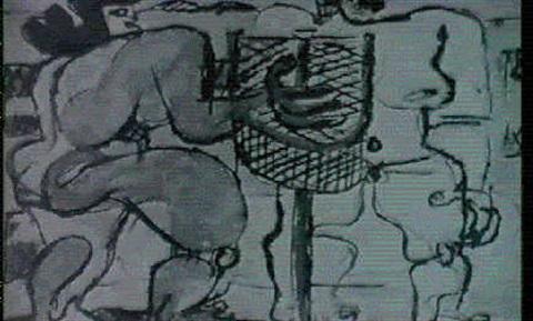 Le Corbusier-Composition aux deux personnages-1936