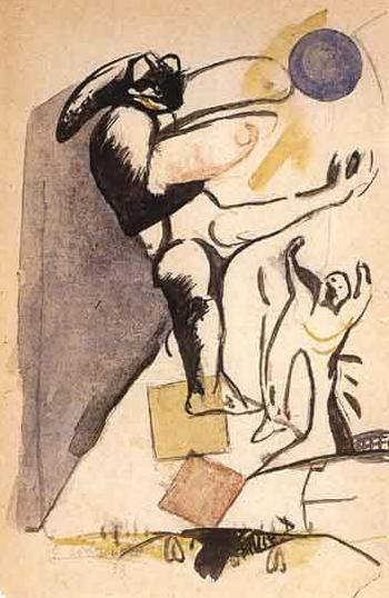 Le Corbusier-Jeu de ballon-1933