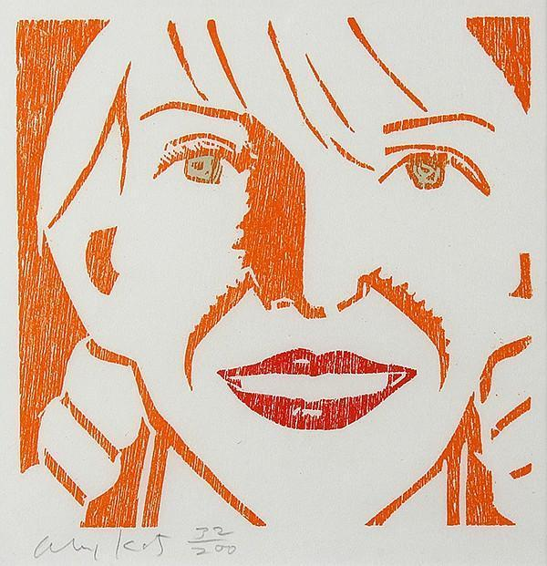 Alex Katz-Jessica-1994