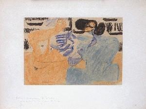 Le Corbusier-Composition au salon-1935
