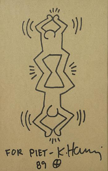 Keith Haring-Keith Haring - 'For Piet'-1989