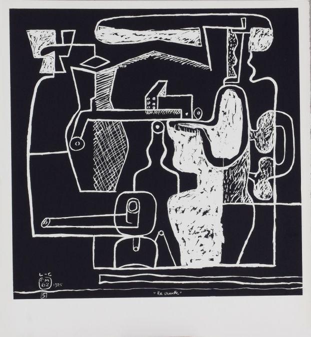 Le Corbusier-La Mer Est Toujours Presente (1962)-1962