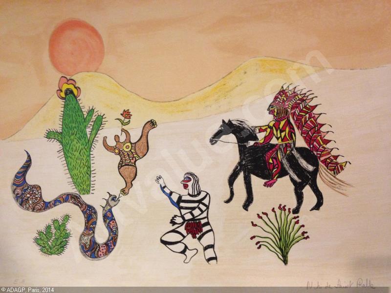 Niki de Saint Phalle-Le chef indien-1978