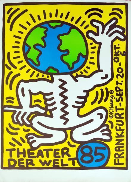 Keith Haring-Keith Haring - Theater der Welt-1985