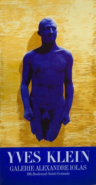 Yves Klein-Galerie Alexandre Iolas-