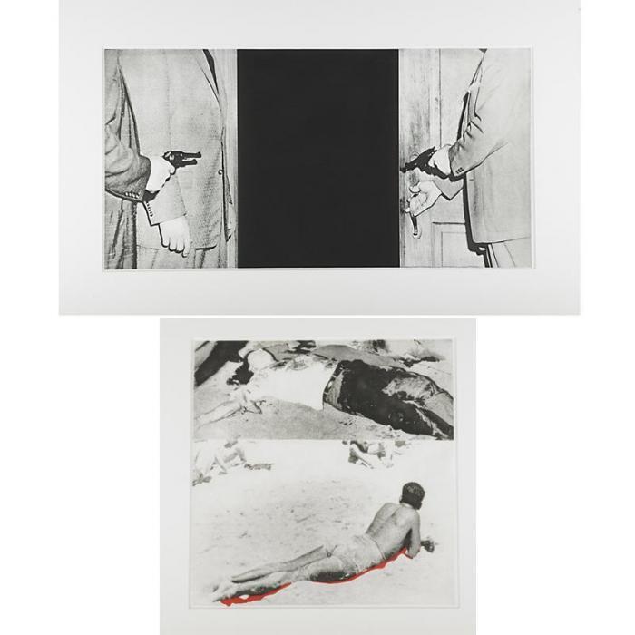 John Baldessari-Two works from Hegel's Cellar-1986