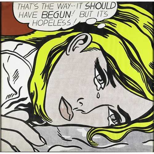Roy Lichtenstein-Hopeless-1969