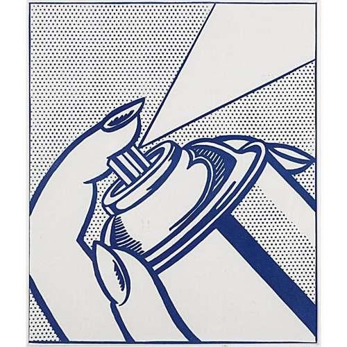 Roy Lichtenstein-Spray Can (from 1 Cent Life)-1964