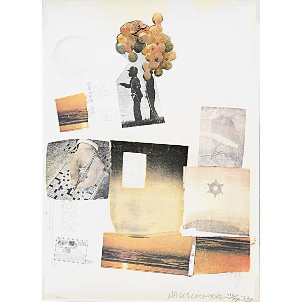 Robert Rauschenberg-Robert Rauschenberg - Support-1973
