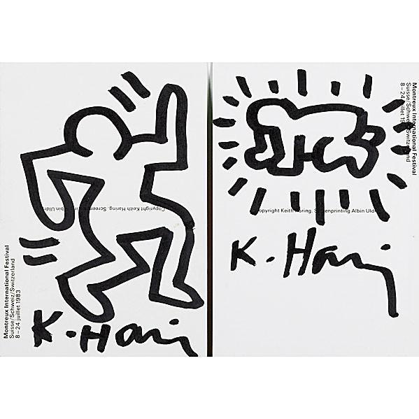 Keith Haring-Keith Haring - Montreux International Jazz Festival-1983