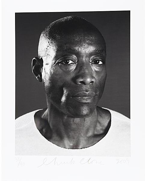 Chuck Close-Bill T. Jones / Untitled-2009