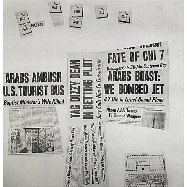 Robert Rauschenberg-Robert Rauschenberg - Features # 73 (From Currents)-1970