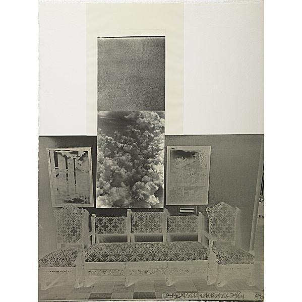 Robert Rauschenberg-Robert Rauschenberg - Razorback Bunch: Etching VI-1982