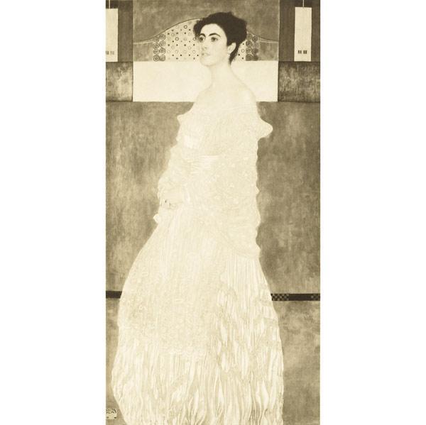 Gustav Klimt-Portrait of Baroness Wittgenstein (No. 4)-