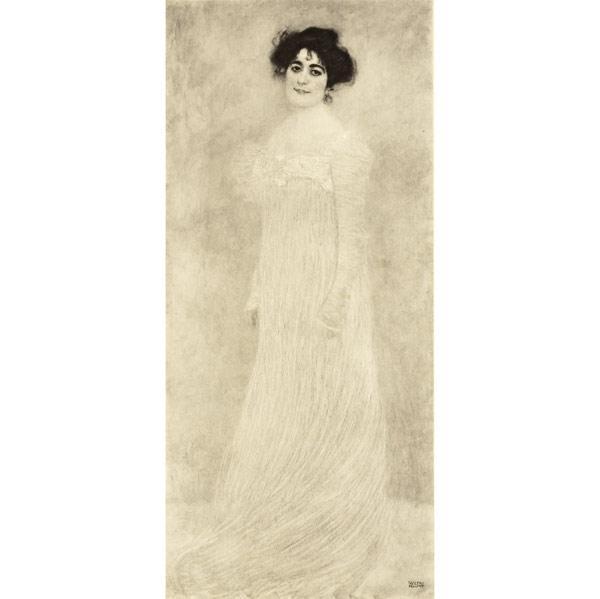 Gustav Klimt-Portrait of Frau Serena Lederer (No. 6)-