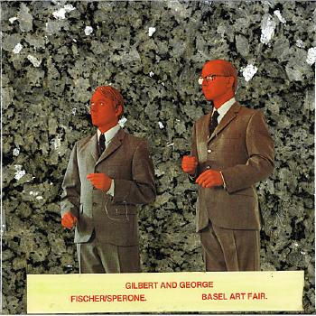 John Baldessari-Gilbert and George-1989