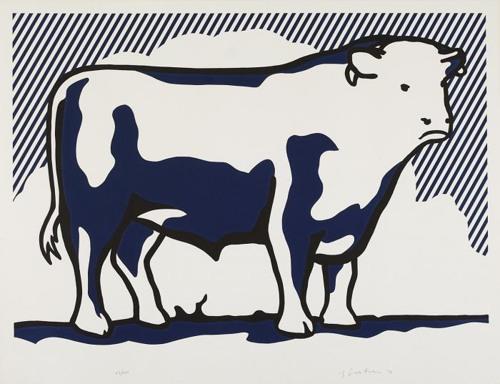 Roy Lichtenstein-Bull II (from Bull Profile Series)-1973