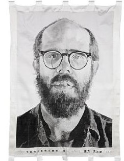Chuck Close-Self portrait-1993