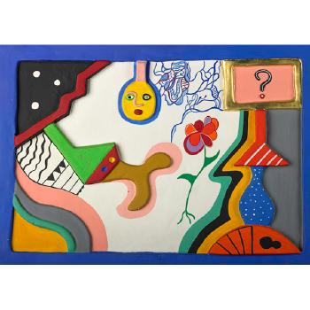 Niki de Saint Phalle-La question-1984