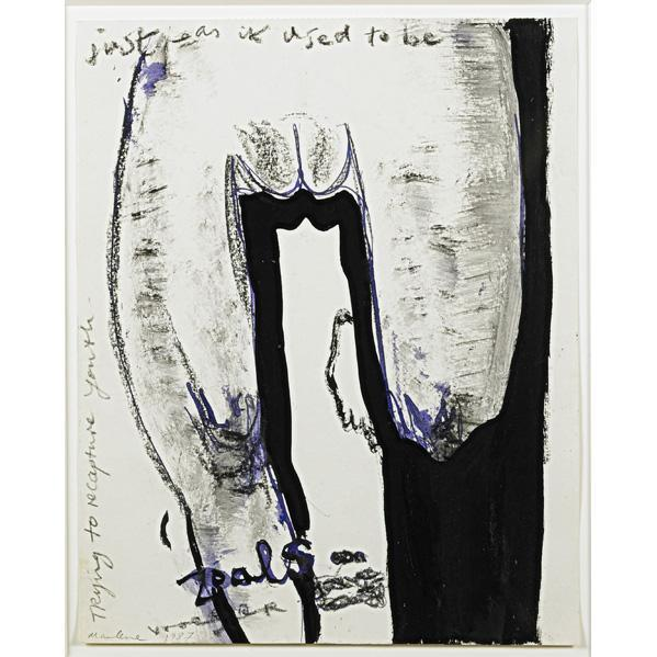 Marlene Dumas-Just As It Used To Be-1987
