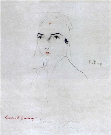 Marcel Duchamp-Soeur aspirine-1915