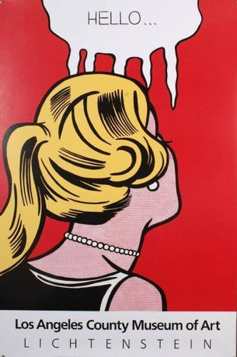 Roy Lichtenstein-Hello-1987