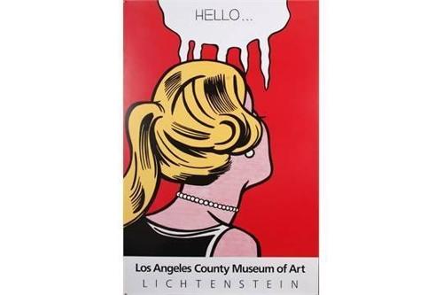 Roy Lichtenstein-Hello-