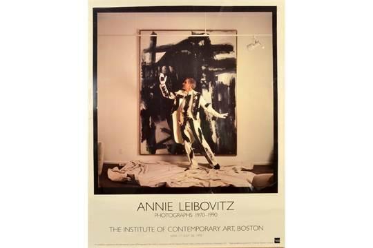 Annie Leibovitz-Exhibition poster showing Steve Martin-1992