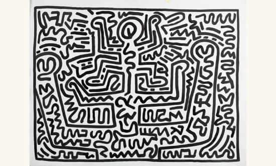 Keith Haring-Keith Haring - Untitled, no 28-1987