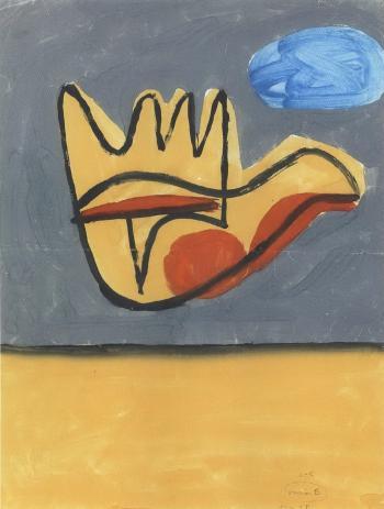 Le Corbusier-La main ouverte-1950