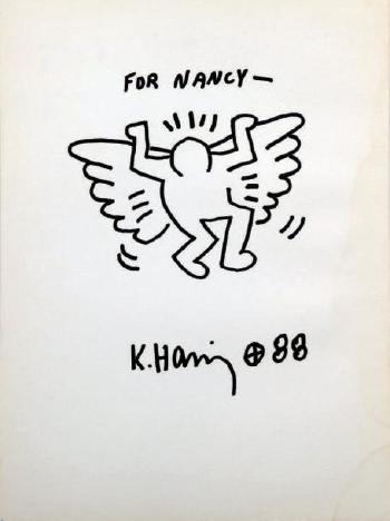 Keith Haring-Keith Haring - Sans titre - Untitled (For Nancy)-1988